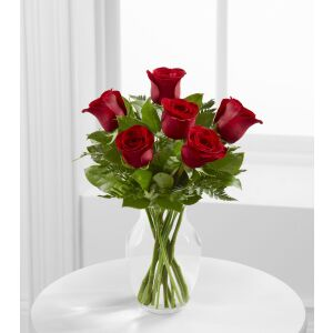 E4-4822 The Simply Enchanting Rose Bouquet by FTD - VASE INCLUDED