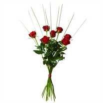 Bouquet with 7 red roses