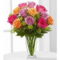 E6-4821 The Pure Enchantment™ Rose Bouquet by FTD® - VASE INCLUDED